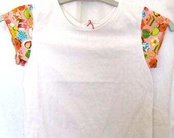 T-shirt manches courtes friandises japonaises 4 ans