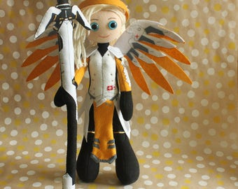 Mercy exclusive plush doll