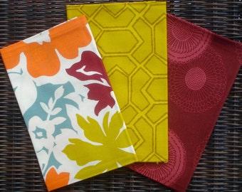 Erin Michael UpTown original line moda fabric 3 FQ set gold maroon