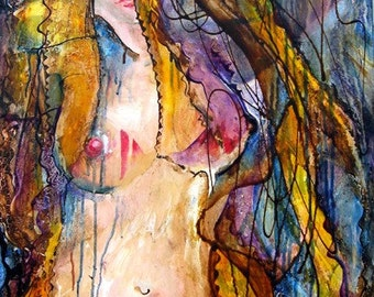 Original Painting, Beauty (Published and Award Winning), Published in book by MOT Masters of Today