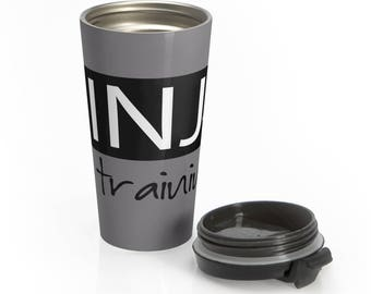 Ninja In Training Stainless Steel Travel Mug