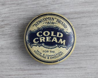 Vintage Cold Cream Beauty Tin