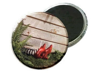 Magnet - Wizard of Oz Wicked Witch East Ruby Slippers