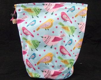 R/M Birds project bag