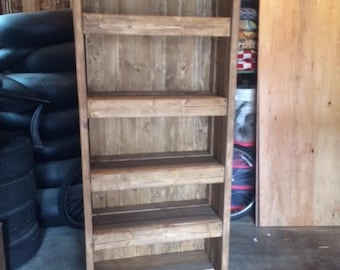 Reclaimed Wood Bookshelf