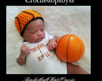 Infant Boys' Basketball Hat/Onesie