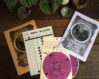 Digital Kit - Gardening By The Moon (Fuchsia)