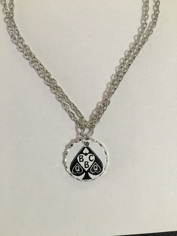 Queen of Spades BBC necklace