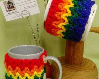 Mug Hugs--Rainbow!