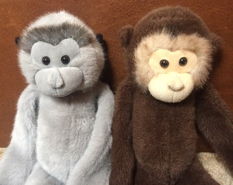 Monkey Plush Set (used)