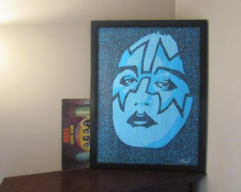 Ace Frehley from Kiss Word Art