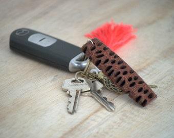 Wood keychain - wooden keyring, wooden keychain, keyring, keychain, unique keychain, australian gift, wooden gift, unique gift idea, banksia
