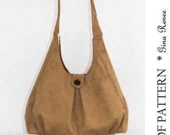 PDF Purse Sewing pattern. Shoulder bag pattern.