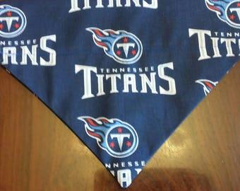 SALE! Tennessee Titans Dog Bandana!!