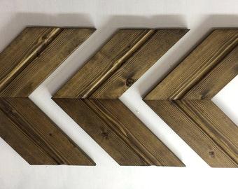 Wooden Arrows, Wooden Chevrons, Chevrons, Chevron Wall Art