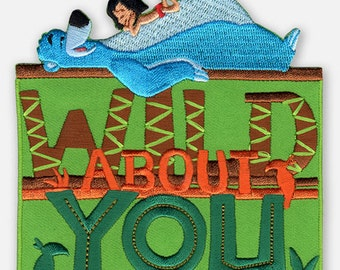 Disney Jungle Book Wild About You Iron-On Applique (1936155001)