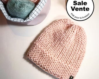 SALE  / The  Beanie in pink / Ready to ship