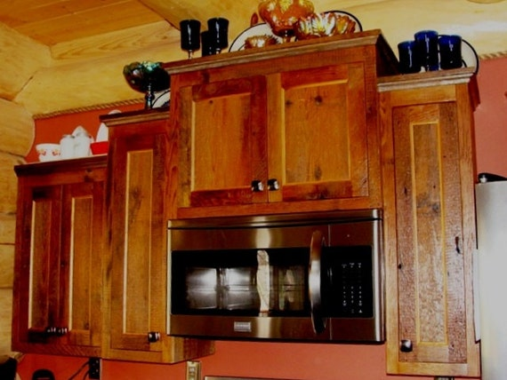 BARNWOOD KITCHEN CABINETS Custom Cabinets