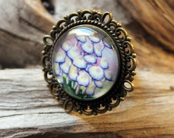 "Mushroom ring bronze collection ""Nature"""