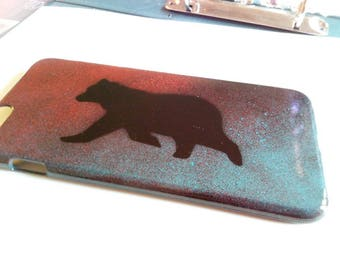 Spray painted iPhone 6/6s case!  - personalised gift idea