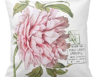 Pillow Cover Floral Spring Rose