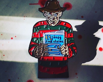 Freddy Enamel Pin