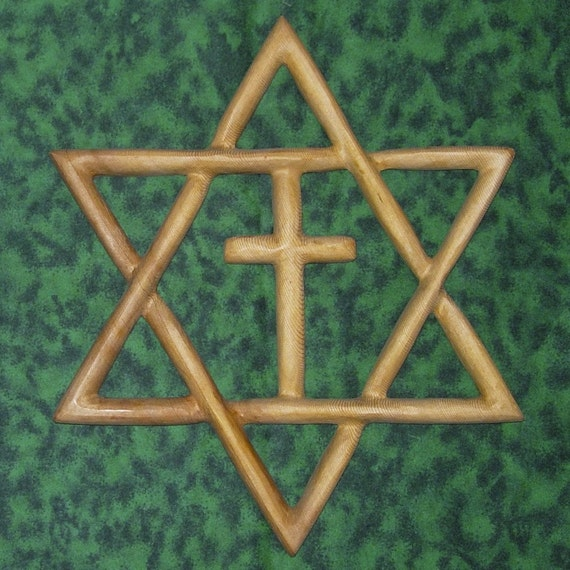 Messianic Star Jewish Christian Families Star Of David