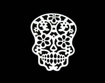 Sugar Skull Die Cut Set of 8