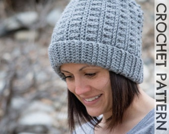 CROCHET PATTERN: Backcountry Beanie - All sizes