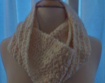 half price infinity scarf in cream