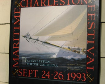 Charleston race week print