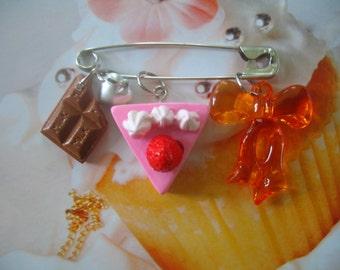 Sugar Smash Candy Charm Pin