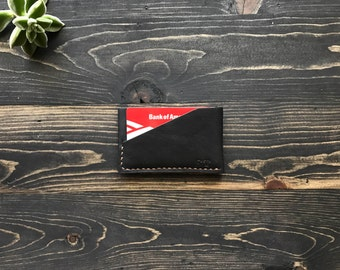 Minimal Wallet, Thin card holder, Thin Card Wallet, Thin Leather Wallet, Front Pocket Wallet, Card Holder