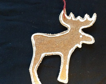 Cookie Ornament - Moose