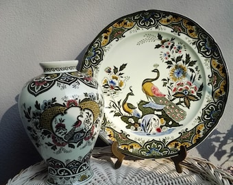 Wall plate and Vase/Villeroy & Boch, PAON