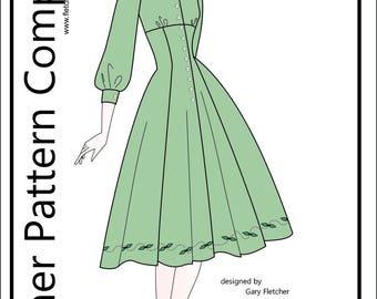 "PDF Shining Hour Pattern for 16"" Ellowyne Wilde Dolls Tonner"