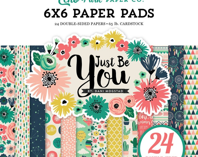 Echo Park Paper JUST BE YOU 6x6 Scrapbook Paper Pad
