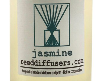 8 oz Jasmine Fragrance Reed Diffuser Oil Refill - Made in the USA