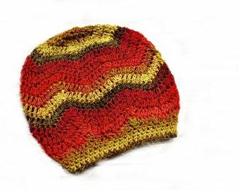 Instant Download Crochet Pattern - Crochet Hat Pattern Chevron Hat Pattern - Womens Hat Pattern Slouchy Hat Pattern - Womens Accessories