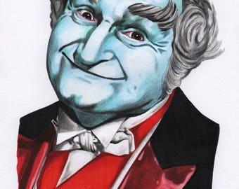 Grandpa Munster A4 Colour Drawing