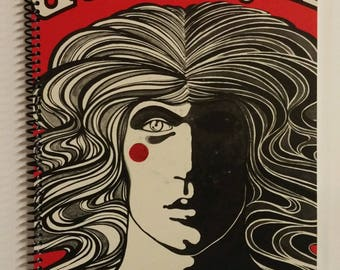 Godspell Spiral Notebook Made from Recycled Vinyl Record Album Cover