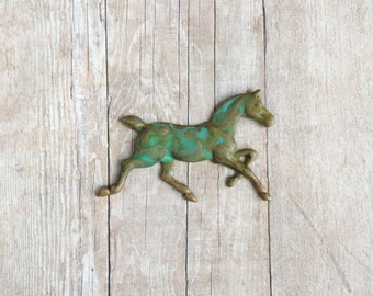 Horse Brooch Equestrian Jewelry