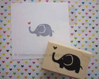 Eluvphant | Wood Mounted Rubber Stamp | KP5064D