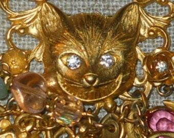 Le chat de Cheshire bracelet - Kirk folie