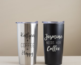 Create Your Own Engraved Stainless Steel Tumbler Custom