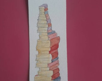 Bookmark books mountain