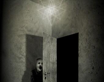 la Galaverna - illustration for dark tale - A4 illustration print 21 x 29,75 cm