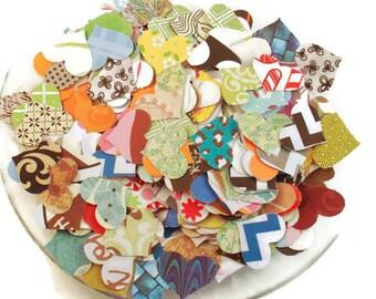 Funfetti  Paper Confetti Hearts     Funky Mix