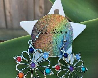 Chakra Stone earrings