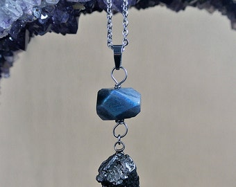 Meteorite Necklace - Galaxy Jewelry - Campo del Cielo - The Gravity Necklace - Outer Space Jewelry